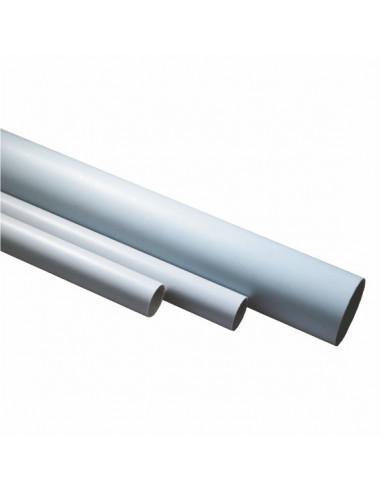 Труба ПВХ d20 жосткая гладкая Sokol 2м цена за 1 м.пог