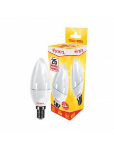 Светодиодная LED лампа свіча 6w 220В E14 3000К Sokol