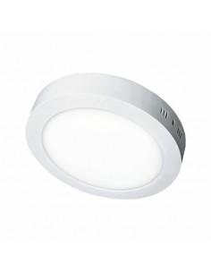 Светильник накладной круглый LED-PANEL 6w 120мм aluminium 480Lm