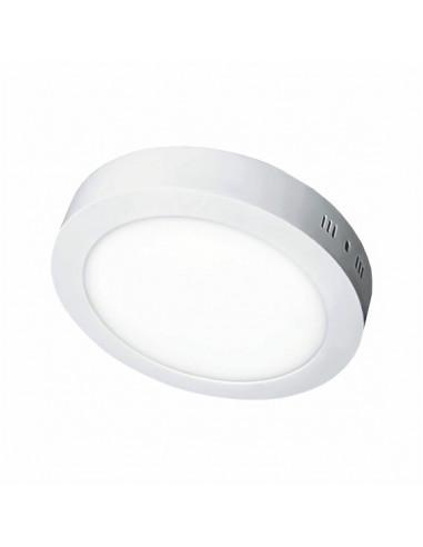 Светильник накладной Sokol круглый LED-PANEL 12w aluminium