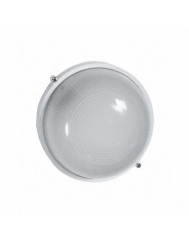 Светильник банник LED-WPR 5w aluminium 500Lm 6500K IP44 круг