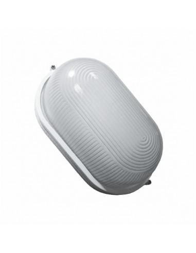 Светильник банник LED-WPE 10w aluminium 1000Lm 6500K IP44 овал