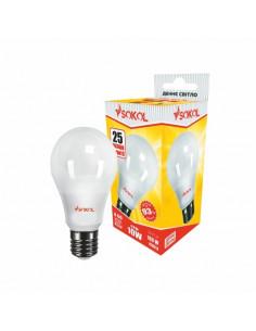 Светодиодная LED лампа A60 7w 220В E27 4100К Sokol