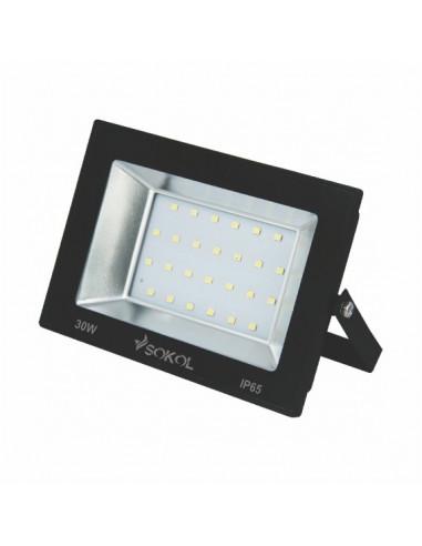 Прожектор LED-SLТ 30w 220В 2250lm 6500K Sokol алюминиевый