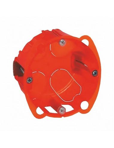 Коробка монтажная Евро d60 оранжевая гипс Одеспласт