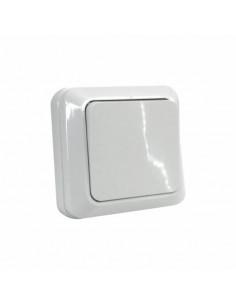 Выключатель 1кл накладной белый ТМ 220