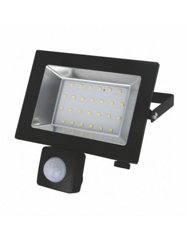 Прожектор LED-SLТ 30w 220В 2250lm 6500K Sokol з датчиком руху