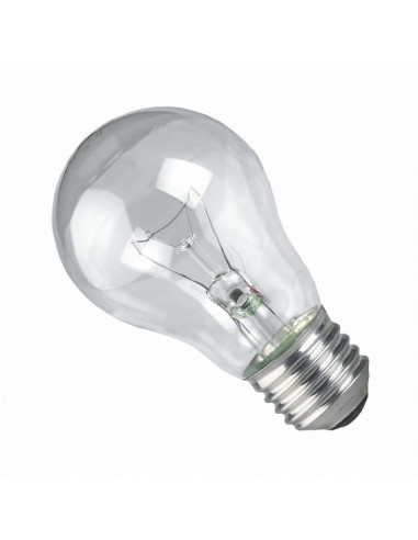 Лампа накала ЛОН 230В 100w Е27 гофра