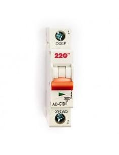 Автоматический выключатель 1Р 10А (6кА) ТМ 220