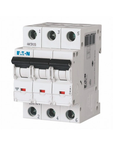 Автоматический выключатель CLS6 3Р B 16А Eaton