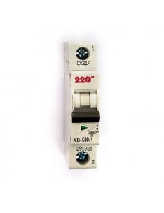 Автоматический выключатель 1Р 40А (6кА) ТМ 220