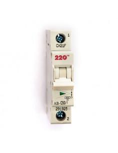 Автоматический выключатель 1Р 50А (6кА) ТМ 220