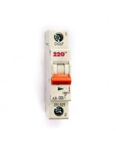 Автоматический выключатель 1Р 63А (6кА) ТМ 220