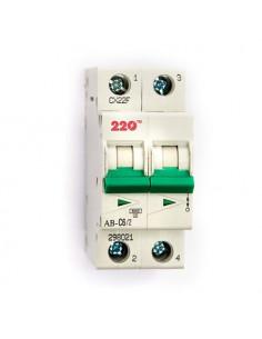 Автоматический выключатель 2Р 6А (6кА) ТМ 220