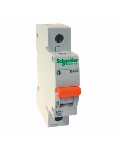 Автоматический выключатель ВА63 C 1Р 20А Schneider Electric