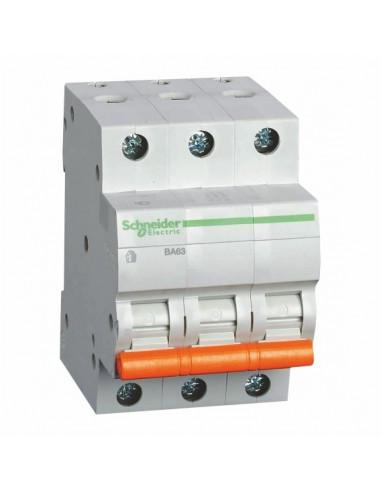 Автоматический выключатель ВА63 C 3Р 50А Schneider Electric