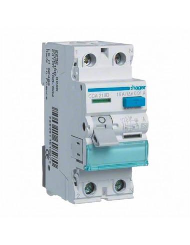 Устройство защитного отключения Hager 2P 40A 30mA А CD240J