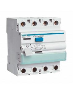 Устройство защитного отключения Hager 4P 25A 30mA A CD425J