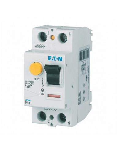 Устройство защитного отключения PF4 2Р 25А 0.03 Eaton
