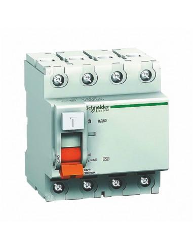 Устройство защитного отключения 4P 63A 30ma Schneider Electric