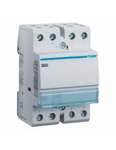 Контактор 63A 4НВ 230В Hager ESC463