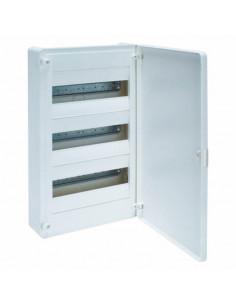 Щит распределительный 36 мод (3х12) наружный с белыми дверками