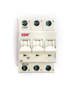 Автоматический выключатель 3Р 50А (6кА) ТМ 220