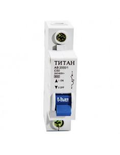 Автоматический выключатель 1Р 50А (6кА) Титан