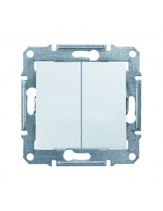Выключатель Schneider Sedna 2кл белый SDN0300121