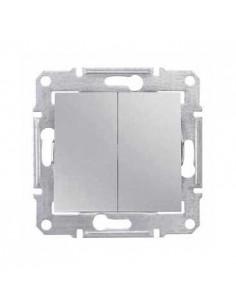 Выключатель Schneider Sedna 2кл алюминий SDN0300160