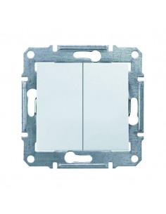 Выключатель Schneider Sedna 2кл белый IP44 SDN0300421