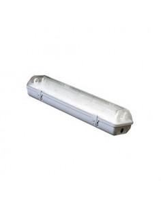 Светильник люминесцентный Lumen 2*18w IP65 (ABS/PS)