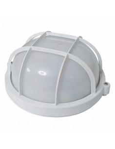 Светильник 60w круглый с решеткой белый SL-1051