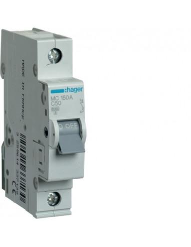 Автоматический выключатель MC150A 50А 1P С (6кА) Hager