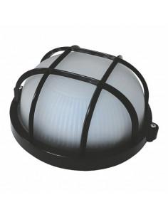 Светильник 100w круглый с решеткой черный SL-1252