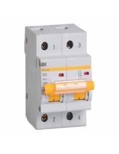 Автоматический выключатель ВА 47-100 2Р 63А (10кА) C IEK