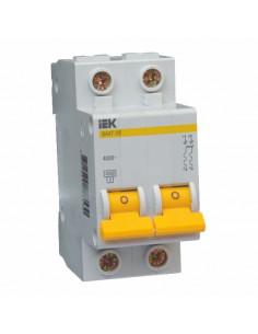 Автоматический выключатель ВА47-29 2Р 4А (4.5кА) С IEK