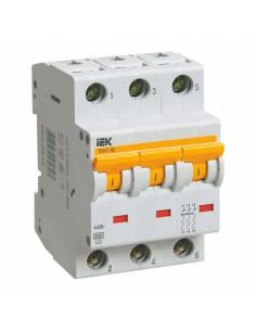 Автоматический выключатель ВА47-29 3Р 10А (4.5кА) D IEK