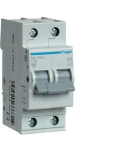 Автоматический выключатель MC210A 10А 2P С (6кА) Hager