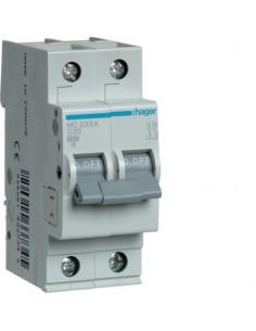 Автоматический выключатель MC220A 20А 2P С (6кА) Hager