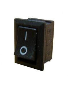 Переключатель 1кл черный YL211-05