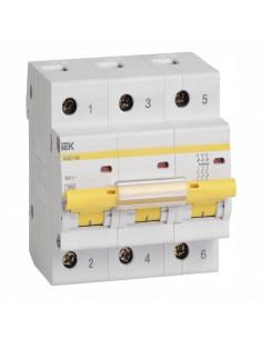 Автоматический выключатель ВА 47-100 3Р 63А (10кА) C IEK