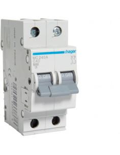 Автоматический выключатель MC240A 40А 2P С (6кА) Hager