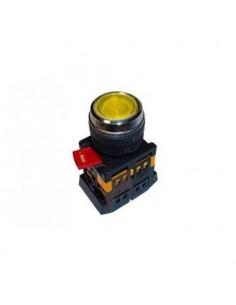 Кнопка ABLFP-22 желтая d22 240В IEK