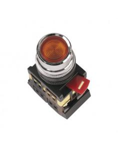 Кнопка ABLF-22 красная d22 240В IEK