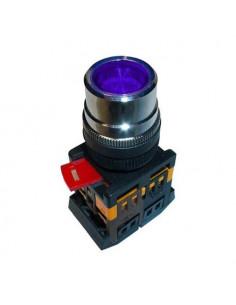 Кнопка ABLF-22 синяя d22 240В IEK