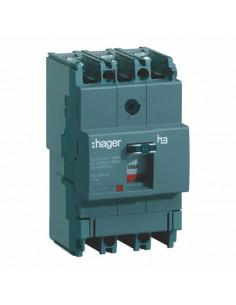 Автоматический выключатель HDA160L 160 А 3п 18 кА Hager