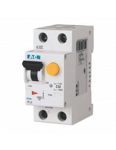 Дифференциальный автоматический выключатель PFL4 1P+N C 16А