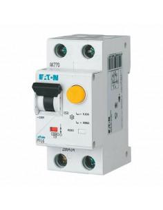 Дифференциальный автоматический выключатель PFL6 1P+N C 6А 0.03