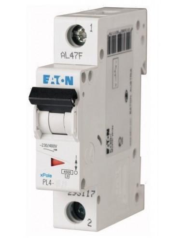 Автоматический выключатель PL4 1Р C 10А Eaton
